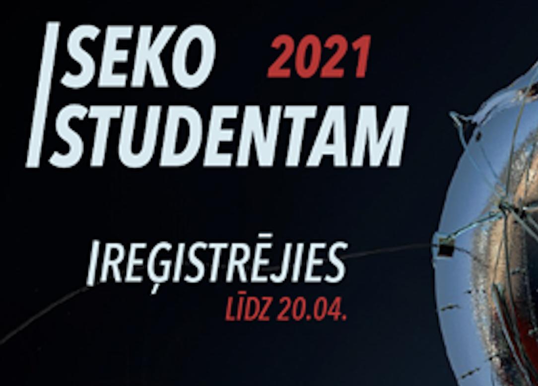 """""""Seko Studentam"""": Banku augstskola."""